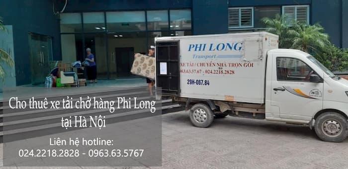 Dịch vụ chở hàng thuê tại phố Nguyễn Công Thái
