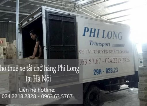 Dịch vụ chở hàng thuê tại phố Nguyễn Trực