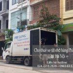 Xe taxi tải chở hàng thuê Phi Long tại phố Cầu Diễn
