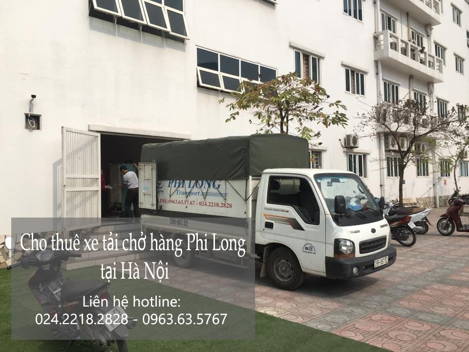 Cho thuê xe chở hàng Phi Long tại phố Đình Thôn