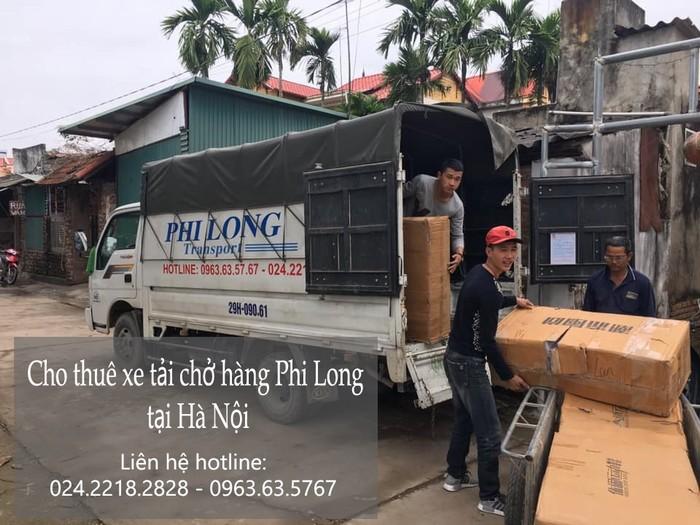 Dịch vụ taxi tải tại phố Vũ Văn Cẩn