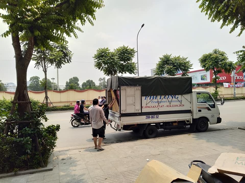 Chở hàng thuê Phi Long giá rẻ tại phố Hoàng Quốc Việt
