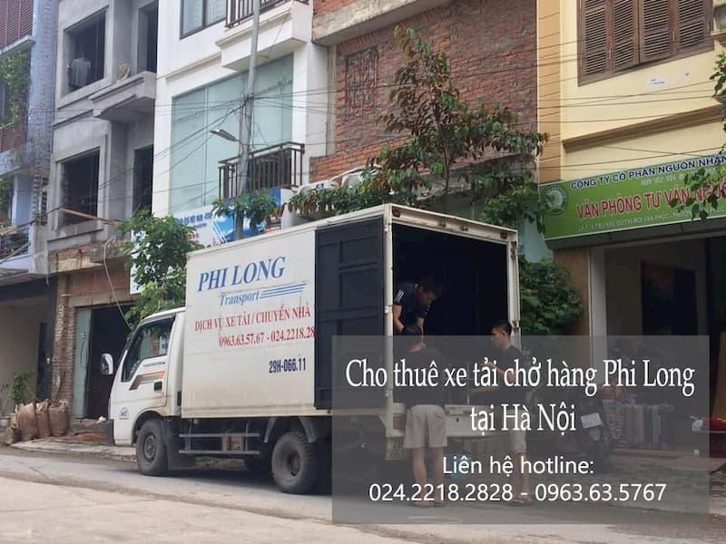 Dịch vụ cho thuê xe tải Phi Long tại phố Đỗ Nhuận