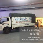 Dịch vụ chở hàng thuê Phi Long tại phố Đông Ngạc