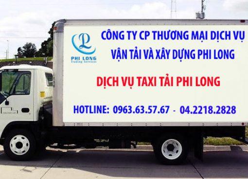 Dịch vụ chở hàng thuê giá rẻ Phi Long tại phường Thụy Khuê