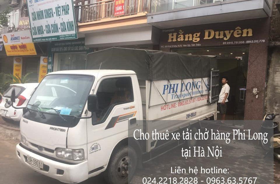 Dịch vụ chở hàng giá rẻPhi Long tại phường Khâm Thiên