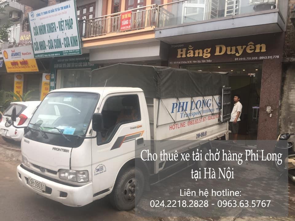 Dịch vụ chở hàng giá rẻPhi Long tại phố Dương Xá