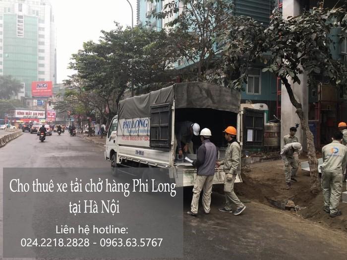 Cho thuê xe tải Phi Long trọn gói tại phố Dương Quang