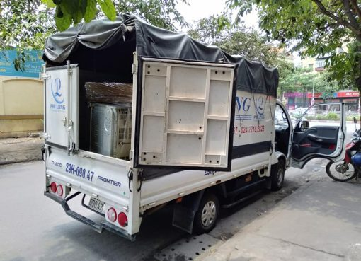 Hãng chở hàng thuê Phi Long tại phố Đào Duy Tùng