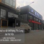 Phi Long dịch vụ xe tải trọn gói tại phố Đào Cao Mộc