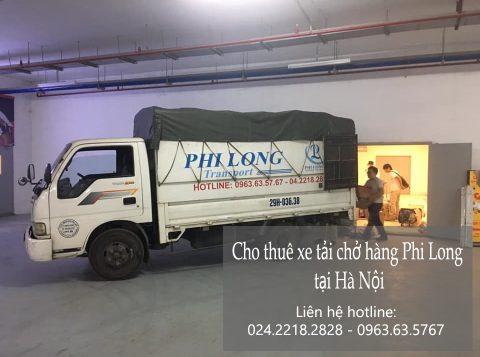 Hãng taxi tải giá rẻ Phi Long tại phố Đội Cấn