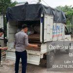 Dịch vụ xe tải chất lượng cao Phi Long tại phố Chùa Một Cột
