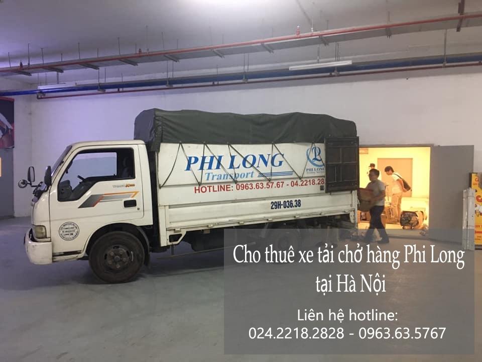 Xe tải chở hàng tết giá rẻ Phi Long phố Láng Hạ
