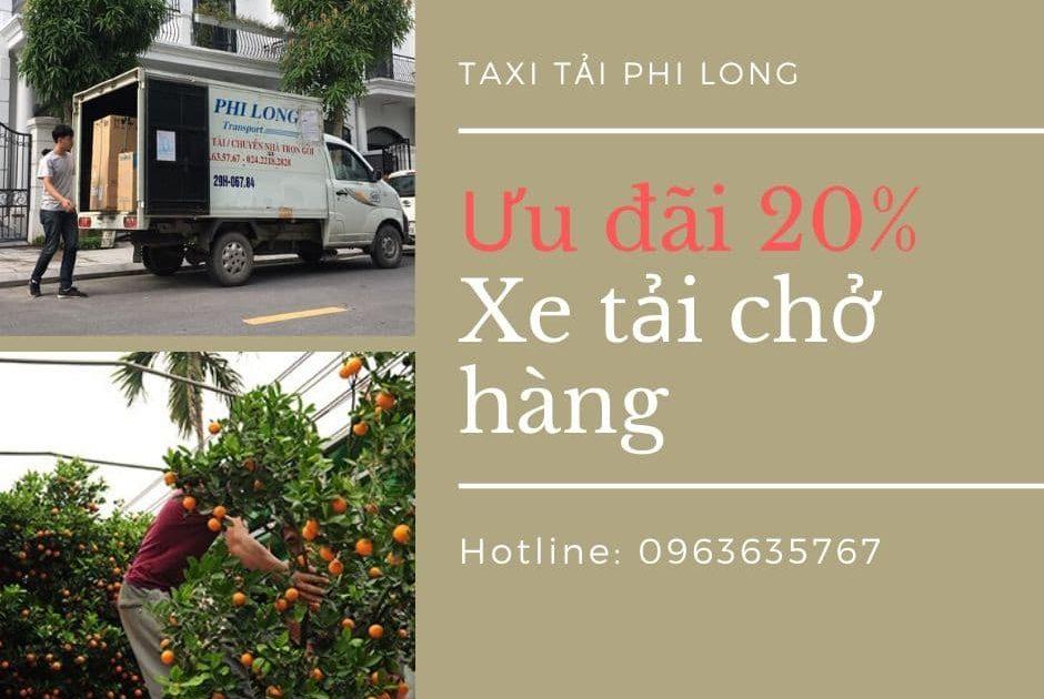 Dịch vụ chở hàng thuê tại xã Việt Hùng