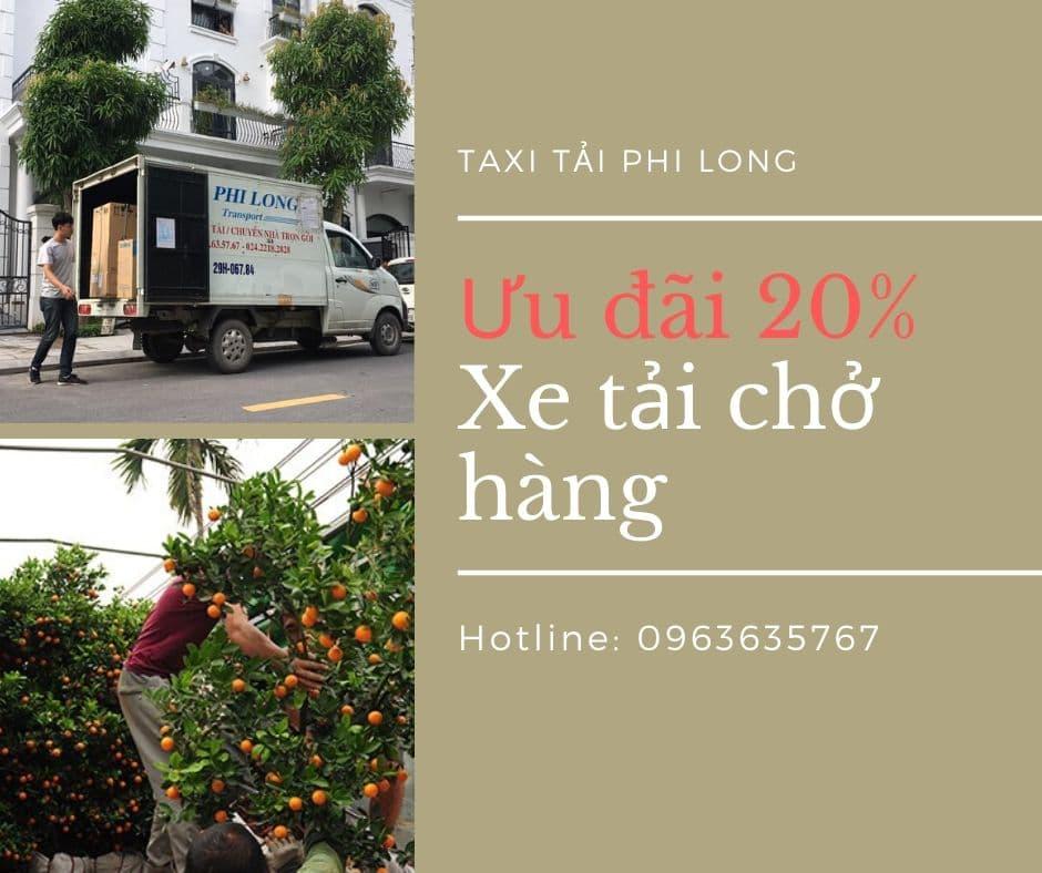 Dịch vụ cho thuê xe tải tại xã Uy Nỗ