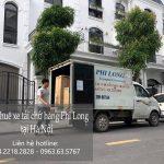 Dịch vụ chở hàng thuê tại quận hà đông