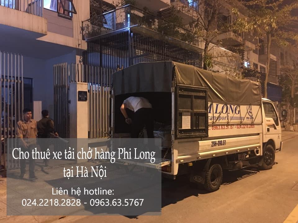Dịch vụ xe tải chất lượng cao Phi Long phố Lạc Long Quân