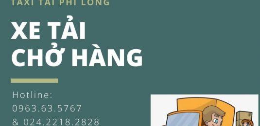 Dịch vụ chở hàng thuê Phi Long tại xã Bạch Hạ
