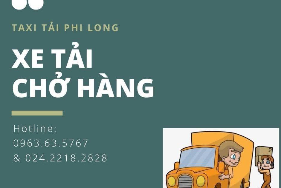 Dịch vụ chở hàng thuê Phi Long tại xã KhaiThái