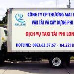 Dịch vụ chở hàng thuê Phi Long tại xã Phúc Tiến