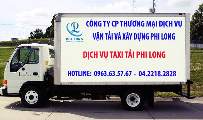 Dịch vụ chở hàng thuê Phi Long tại xã Văn Nhân