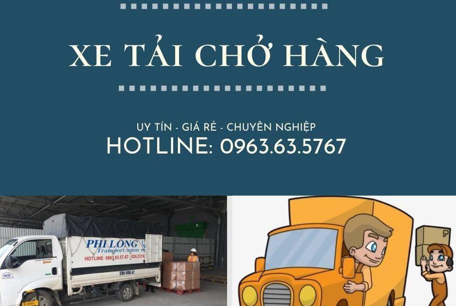 Dịch vụ chở hàng thuê Phi Long tại xã Quang lãng