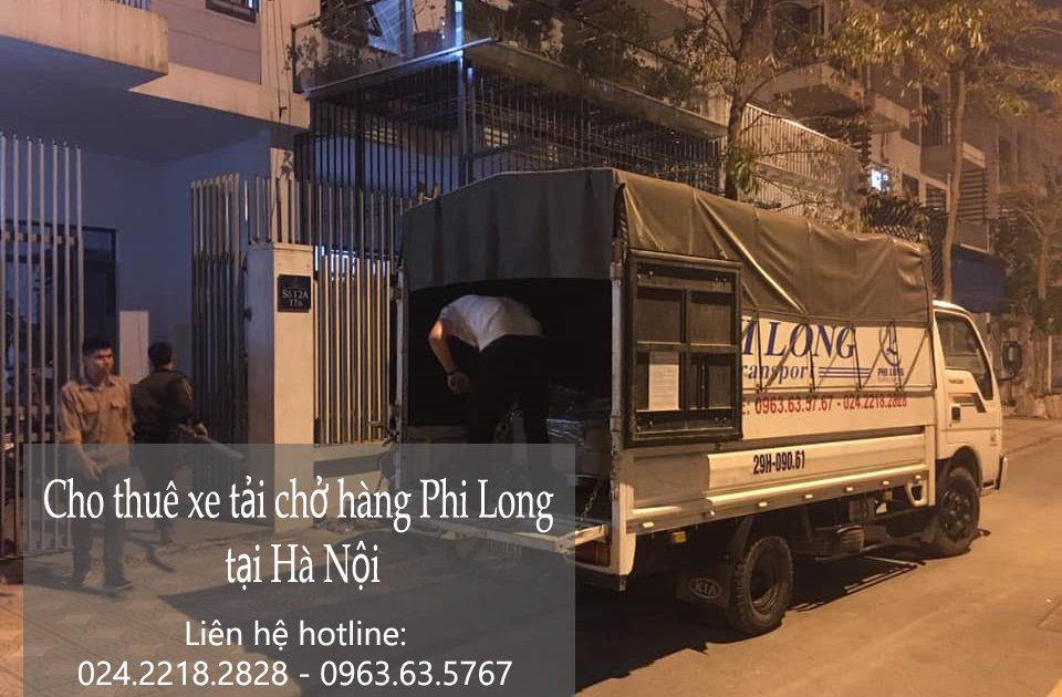 Dịch vụ chở hàng thuê Phi Long tại phố Trần Bình