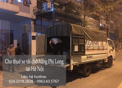 Dịch vụ chở hàng thuê Phi Long tại đường Phú Đô