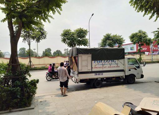 Dịch vụ chở hàng thuê Phi Long tại xã hữu Bằng