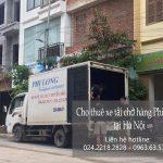 Dịch vụ chở hàng thuê Phi Long tại phố Lê Quý Đôn