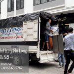 Dịch vụ chở hàng thuê Phi Long tại phố Yên Lạc