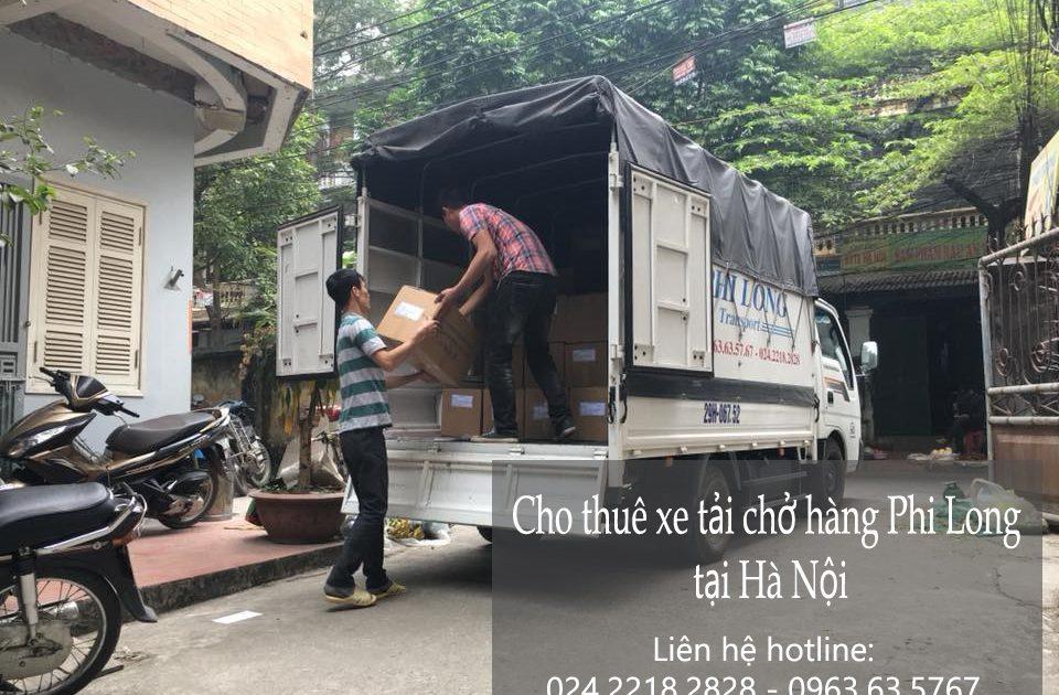 Dịch vụ cho thuê xe tải Phi Long tại đường Trịnh Văn Bô