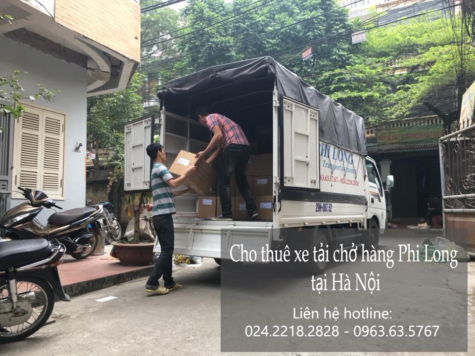 Dịch vụ chở hàng thuê Phi Long tại đường tô hiệu