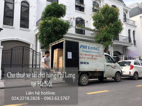 Dịch vụ chở hàng thuê Phi Long tại đường nguyễn phan chánh