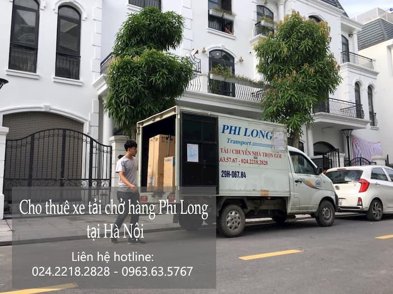 Dịch vụ chở hàng thuê Phi Long tại đường chu huy mân