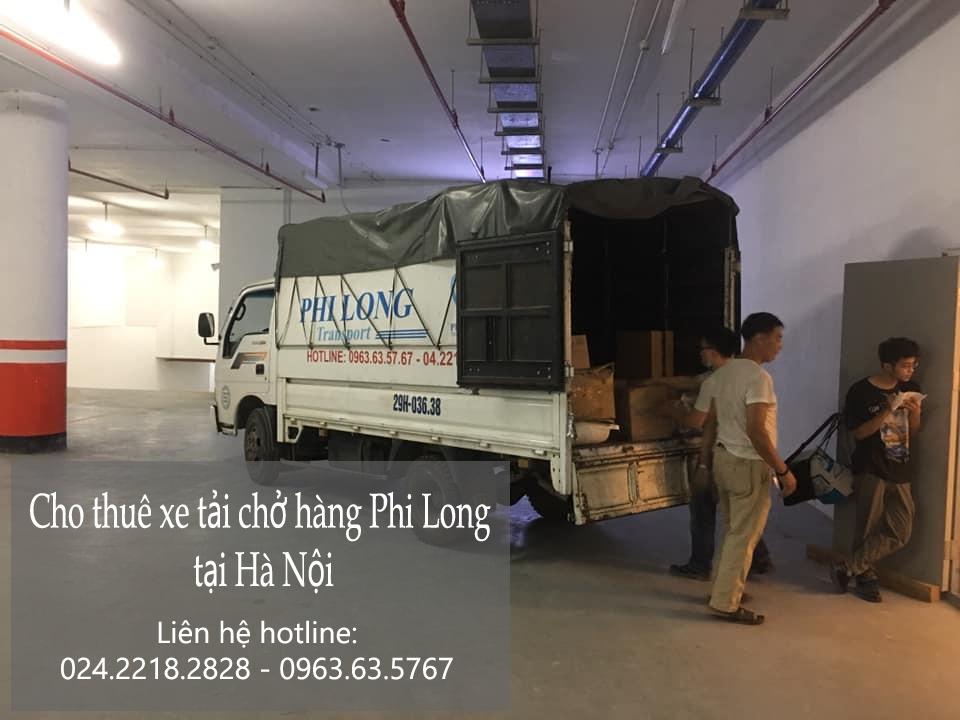 Dịch vụ chở hàng thuê Phi Long tại đường Thanh Am