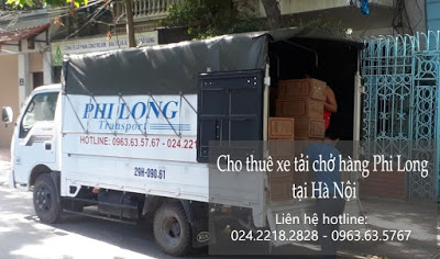 Dịch vụ chở hàng thuê Phi Long tại đường hồng hà