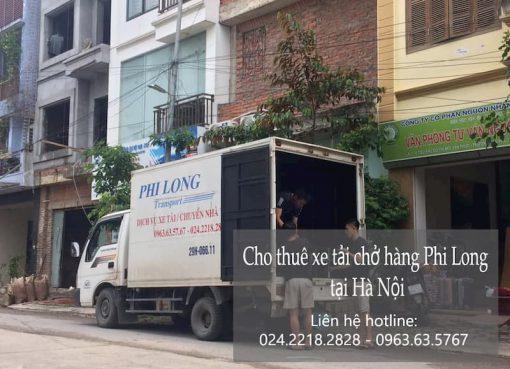 Dịch vụ chở hàng thuê Phi Long tại đường Ngọc Lâm