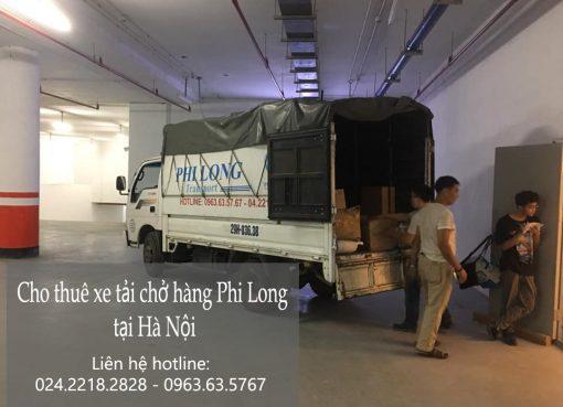 Dịch vụ cho thuê xe tải Phi Long tại đường hoa lâm