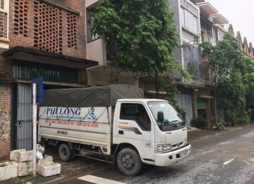 Dịch vụ chở hàng chất lượng Phi Long phố Cầu Giấy