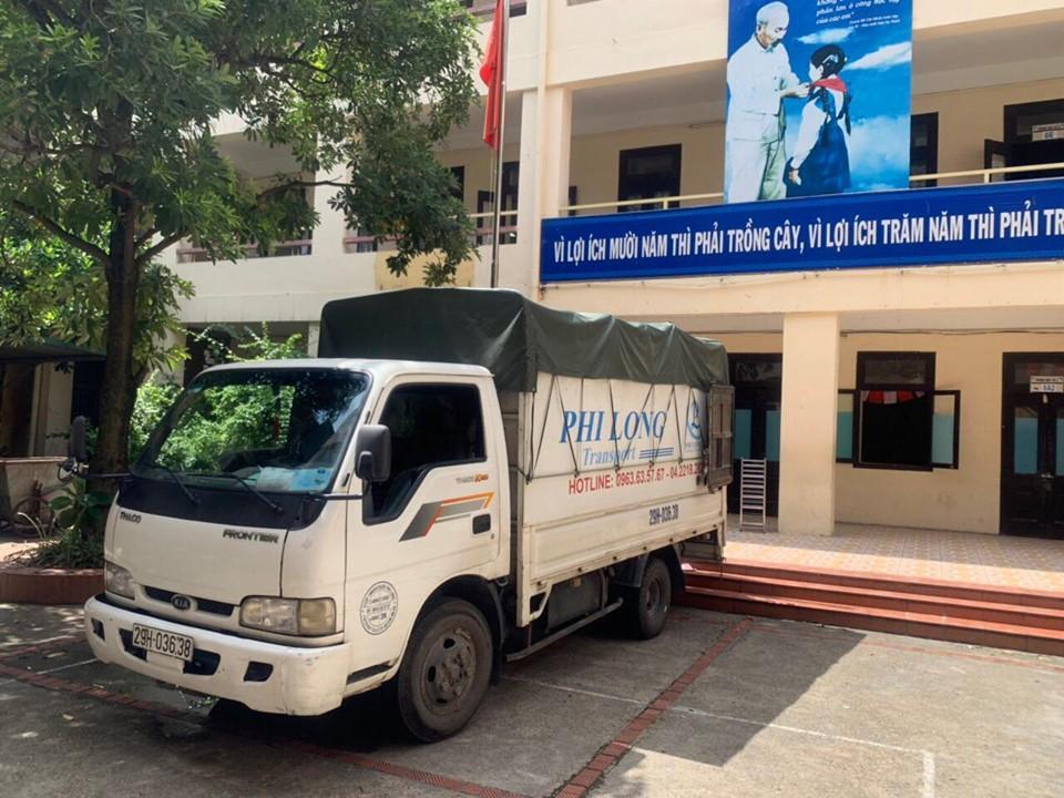 taxi tải vận chuyển của Phi Long tại đường Nguyễn Lam