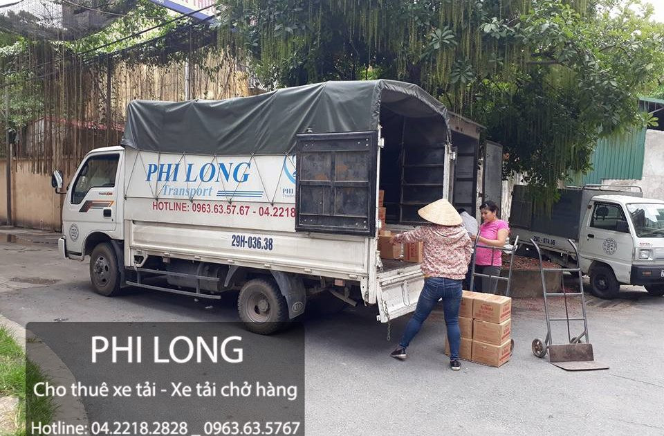 Dịch vụ chở hàng thuê tại phố Đặng Xuân Bảng