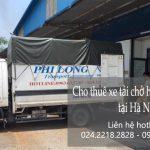 dịch vụ taxi tải giá rẻ và chất lượng cao tại Hà Nội