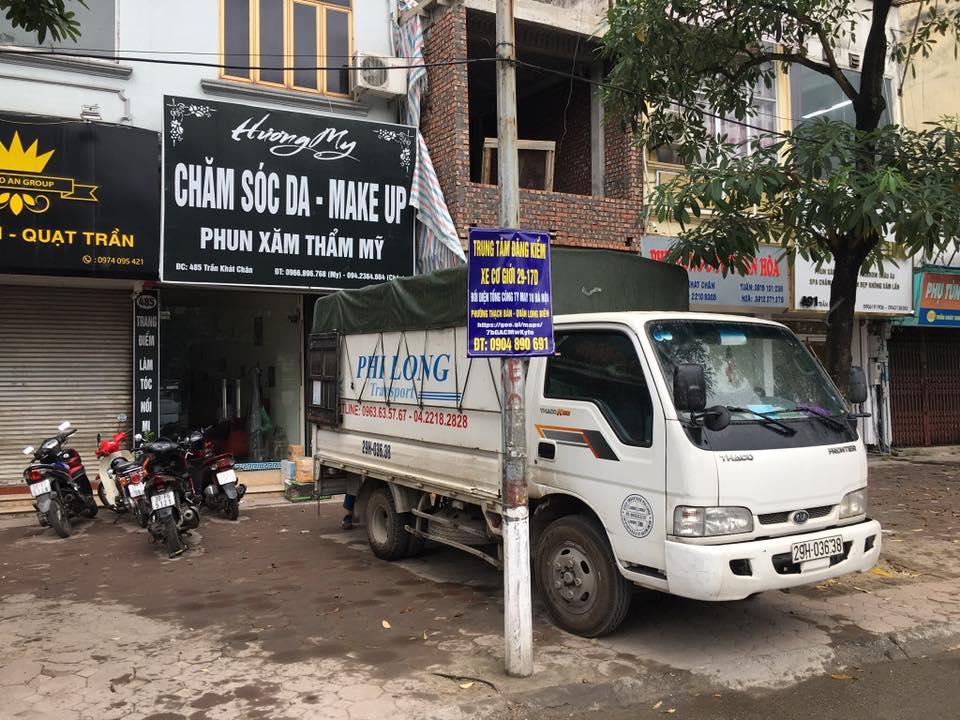 Xe tải chở thuê từ phố Tôn Thất Đàm đi Hải Dương