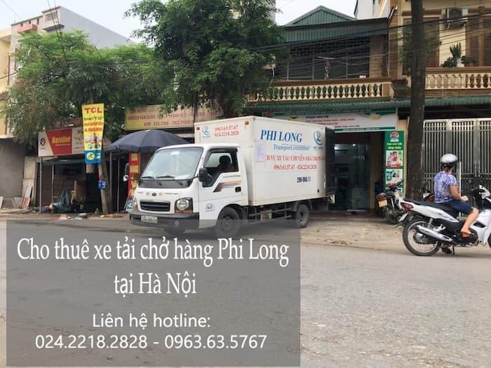 Dịch vụ taxi tải giá rẻ phố Ngũ Xã đi Hải Dương