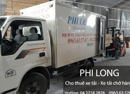 Dịch vụ cho thuê xe tải tại huyện Chương Mỹ