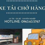 Dịch vụ cho thuê xe tải tại huyện Ứng Hòa