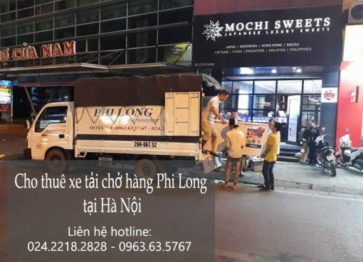 Liên hệ dịch vụ chở hàng thuê tại đường Hồ Tùng Mậu theo số 0963.63.5767.